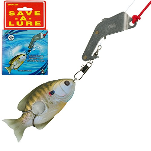 Fishing Lure Retriever - Best Plug Knocker for Hung Up Lures and Artificial Bait - Eliminates Rod and Pole Tip Damage - Rescues Your Favorite and One-of-a-Kind Fishing Lures