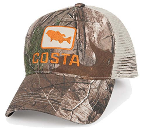 Costa Del Mar Bass Trucker, X-Large, Realtree Xtra - Mar Costa Camo Del