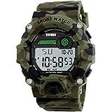 Boys Camouflage LED Sport Watch,Waterproof...