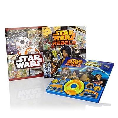 Star Wars Interactive 3-piece Book Set