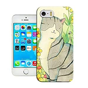 LarryToliver Customizable Cell Phone iphone 6(4.7) Cases Cats and tigers Logo Background