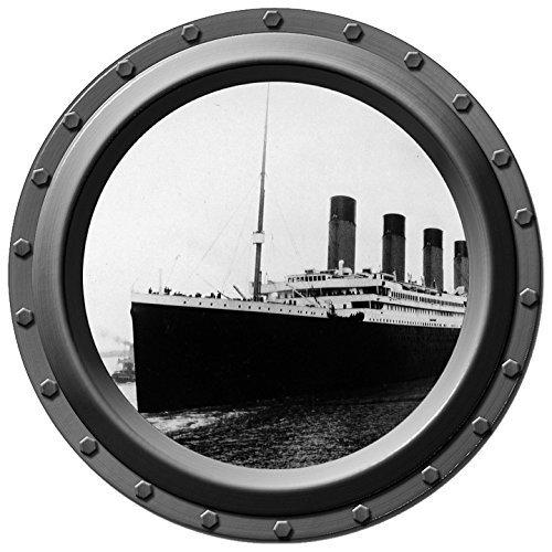 Titanic - Ship - Porthole Wall Decal - Wilson Port