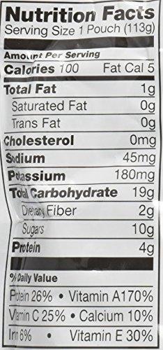 Plum Organics Tots Mighty 4 Toddler Food, Sweet Potato, Carrot, Blueberry, Apple, Greek Yogurt, Millet and Oat, 4 Ounce-6 count by Plum Organics (Image #2)