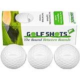 Golf Shots Golf Ball Shaped Shot Glasses - Sleeve of 3