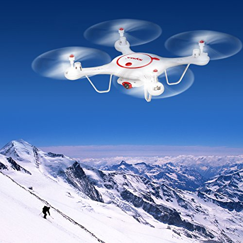 Syma X5UC RC Quadcopter Drone 2.4G 4 Channel 6-Axis Gyro With 2MP HD Camera Barometer Set Height