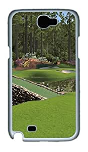 12th Augusta National Custom Designer Samsung Galaxy Note 2/Note II / N7100 Case Cover - Polycarbonate - White