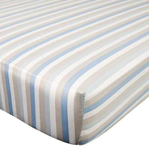 Sheet Kidsline (Carter's Crib Fitted Sheet, Boy Stripe)