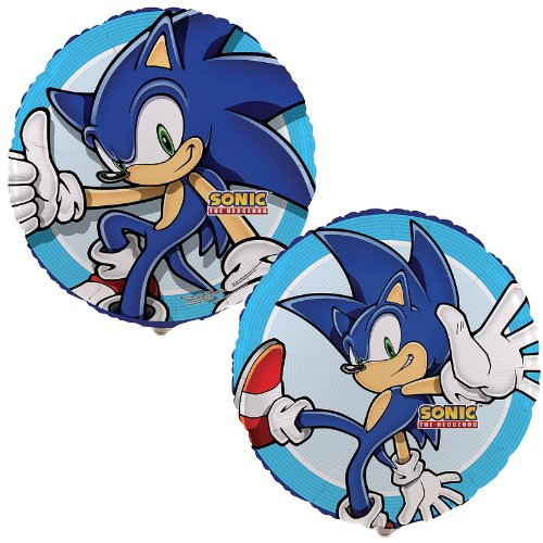 Sonic the Hedgehog 18″ Foil Balloon Party Supplies (One Balloon), Health Care Stuffs