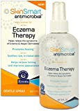 SkinSmart Antimicrobial Eczema Therapy, 8 oz. Clear Spray. No steroids! For all ages, babies, all skin, faces. Help itch, soothes, promotes healing! 800+ sprays. Calm flare ups! Replace eczema cream!