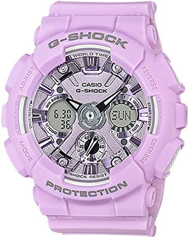 Casio G-Shock Women s GMAS120DP S Series Analog-Digital Watch