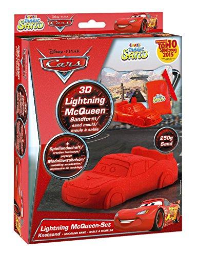 Craze 54759 Magic Sand Set, Lightning Mc Queen, Multi Color