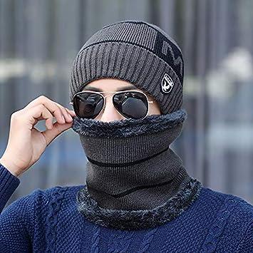 LybHat Gorra de Invierno para Hombre, Gorro de Invierno, frío y ...
