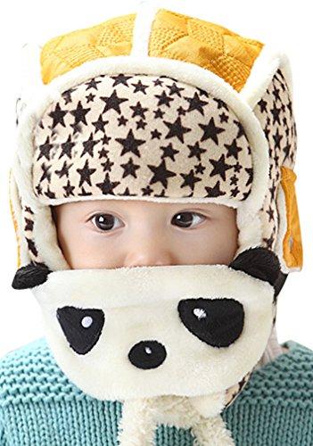 Unisex Panda Function Winter Helmet