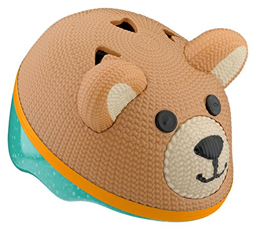 Schwinn 3D Teddy Bear Helmet for Infants, Featuring 360 Degree Comfort System with Dial-Fit Adjustment, for Infants and Children up to 3 Years Old ()