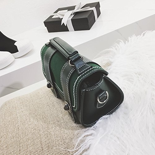Fashion Shoulder Green Inclined Handbags Buckle Pocke Mobile Bag Simple Scrub Bag Lady Messenger Ifx7wg8qq