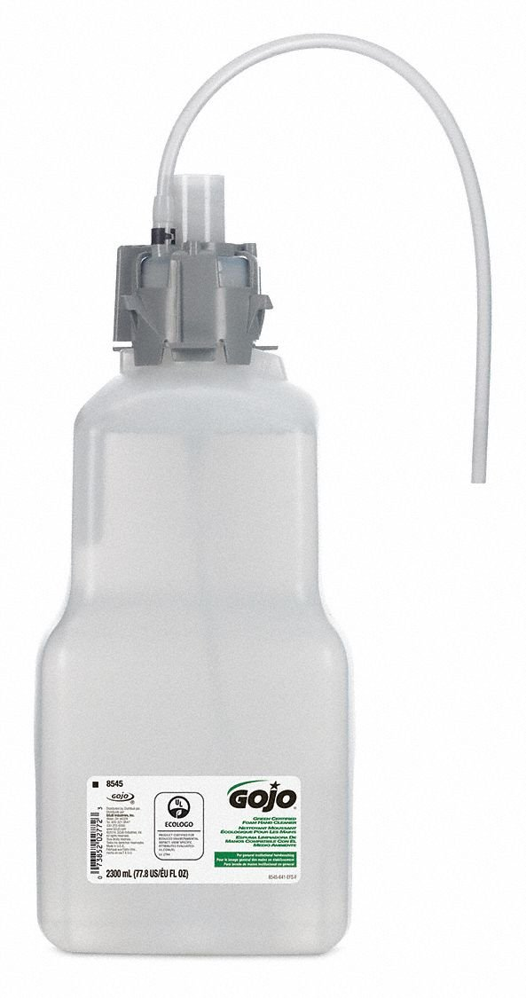Gojo - 8545-04 - Hand Soap, Unscented, 2300mL Hands Free Dispenser, Package Quantity 4