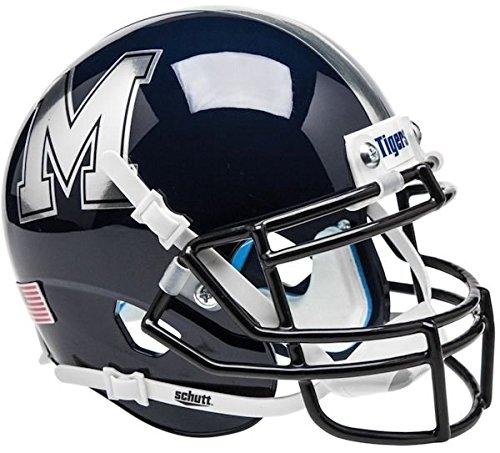 MEMPHIS TIGERS MINI Football Helmet (CHROME)