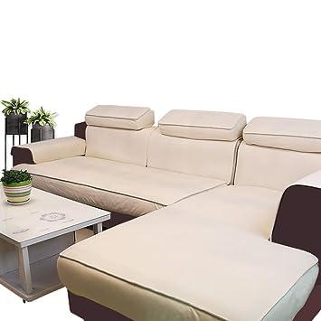 YEARLY 100% Impermeable Funda para sofá, Funda de sofá De Lujo Europeo Resistente a Las Manchas Antideslizante Cubrecanapé Protector de Muebles Casa ...