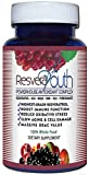 Resvera Youth Antioxidant Antiaging Power Formula 30 Caps - 5 Pack