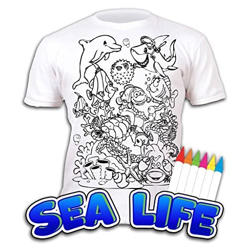 80% OFF Splat Planet Camiseta SEA LIFE deifín para niños y niñas ...