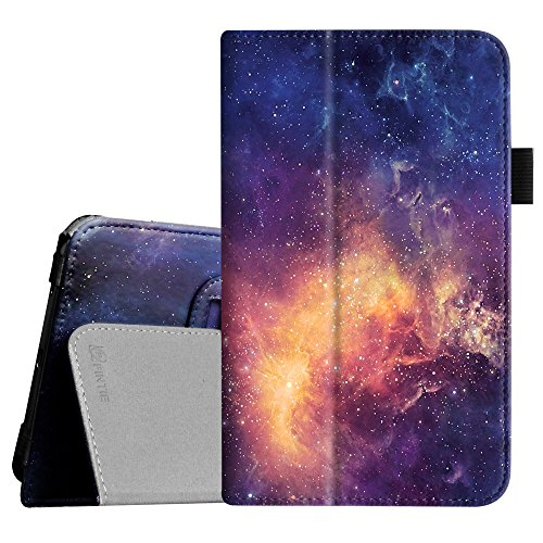 Fintie Folio Case for Samsung Galaxy Tab E Lite 7.0 - Slim Fit Folio Stand Leather Cover for Galaxy Tab E Lite SM-T113/Tab 3 Lite 7.0 SM-T110/SM-T111 7-Inch Tablet, Galaxy