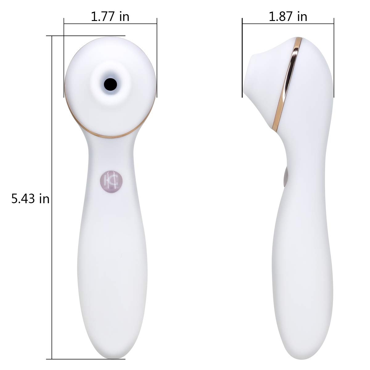 Clit Sucking Vibrator Dildo Sex Toy Personal Clitoral Stimulator G Spot with Suction & Vibration Orgasm for Women