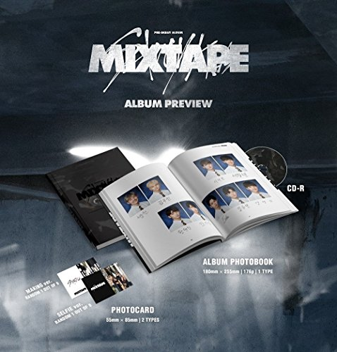STRAY KIDS - Mixtape (Debut Album) CD+Official Folded Poster+Extra (Mixtape Cd)
