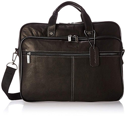Heritage Colombian Leather Double Compartment 16