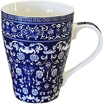 Amazon.com: Royal Doulton Pacific Accent Mugs, Blue, Set
