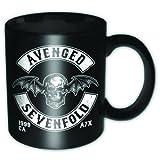 11oz Black Avenged Sevenfold Death Bat Crest Mug