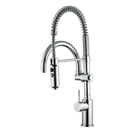 Fima by Nameeks S7021 Single Handle Pull Down Kitchen Faucet ...