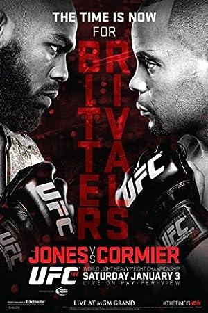 Laminated Official UFC 181 Jon Jones vs Daniel Cormier Sports Sign Poster 12x18 inch
