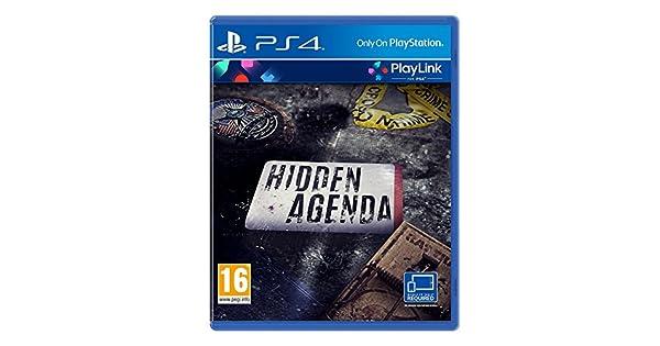 Amazon.com: Hidden Agenda (PS4): Video Games