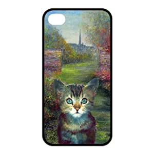 DIY Create Customize Your Phone Case Cover --Get you own iPhone4 iPhone4S case(TPU)--Cute kitten & puppy Otterbox.