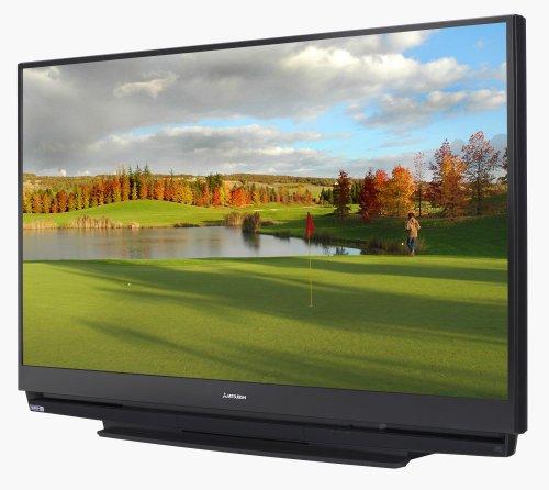 Amazon Com Mitsubishi Wd 65734 65 Inch 1080p Dlp Hdtv Electronics Rh Amazon  Com 55 Inch Mitsubishi Projection TV 72 Inch Mitsubishi DLP TV
