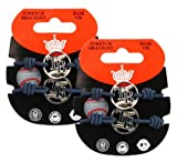 Tampa Bay Rays - MLB Stretch Bracelets / Hair Ties (2 - Pack)