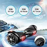 """TOMOLOO Hoverboard with LED Light Two-wheel Self Balancing Scooter with UL2272 Certified, 6.5"""" Wheel Electric Scooter for Kids and Adult"""