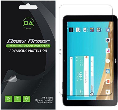 Dmax Armor [3-Pack] for LG G Pad X 10.1 Anti-Glare & Anti-Fingerprint Screen Protector