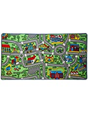 Click N' Play Non-Slip City Life Kids Playmat Rug