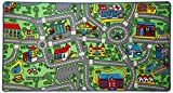 "Click N' Play Large Non-Slip City Life Kids Playmat Rug, Fun, Educational, for Play area, Playroom, Bedroom-53"" x 31 1/2"""