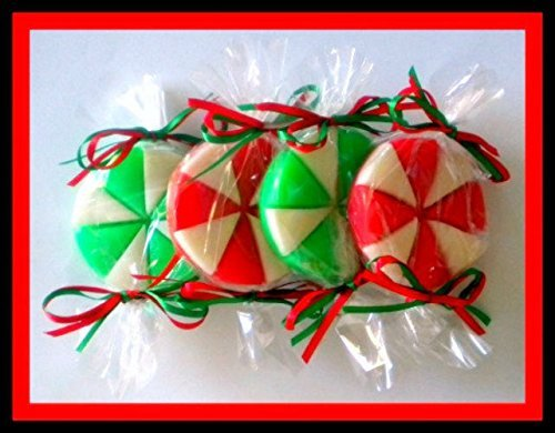 Amazon.com: Peppermint Candy Soaps - Stocking Stuffers - FREE ...