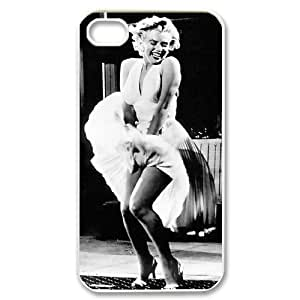 Marilyn Monroe DIY 2D Phone Case for Iphone 4,4S at DLLPhoneCase ( DLL486580 )