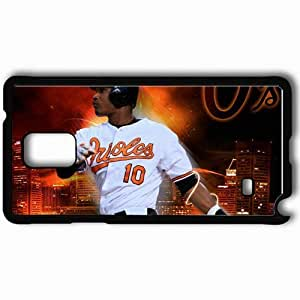 Personalized Samsung Note 4 Cell phone Case/Cover Skin 15158 Adam Jones by the410 Black hjbrhga1544