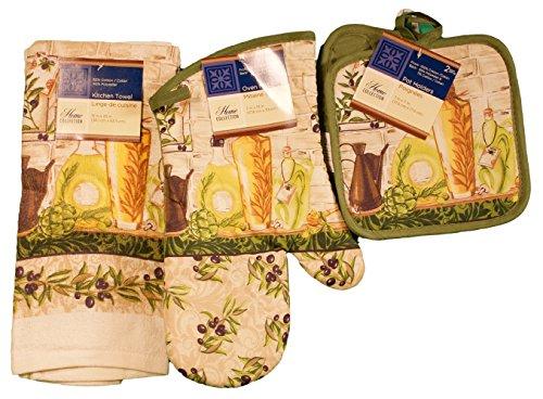 Tuscany Kitchen Linen Set, 4 Pieces