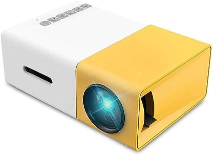 Mini proyector, proyector de película Pico a todo color LED LCD ...