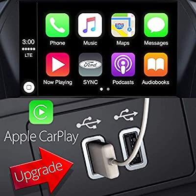 Bestycar Genuine Dual USB Interface Moudule Compatible for Ford CARPLAY SYNC 3 Only HC3Z-19A387-B Blue: Home Audio & Theater