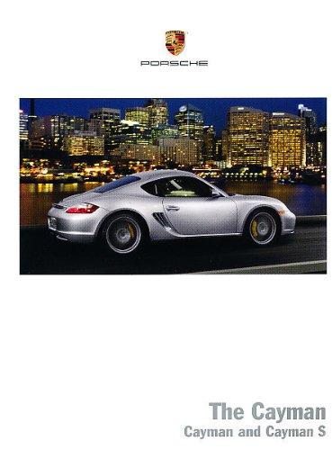Porsche Sales Brochure - 2008 Porsche Cayman S Deluxe Sales Brochure Book