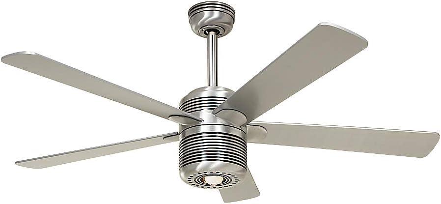 Certeo Ventilateur de Plafond ALU Ø Hélice 1320 mm Laque Blanche Ventilateur Ventilateur de Plafond Ventilateurs Ventilateurs de Plafond