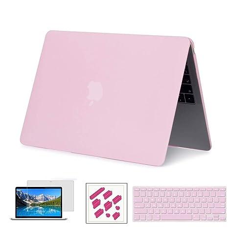 Estuche RYGOU para MacBook Air de 13 pulgadas, modelo 2018, modelo: A1932, cubierta dura mate con protector de piel para teclado Compatible con nuevo ...