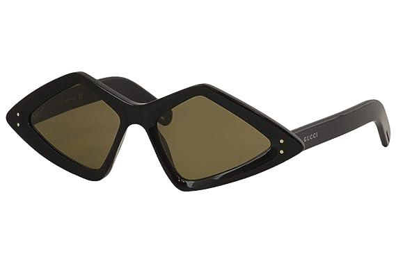 Amazon.com: GUCCI 0496 GG0496S - Gafas de sol unisex, diseño ...
